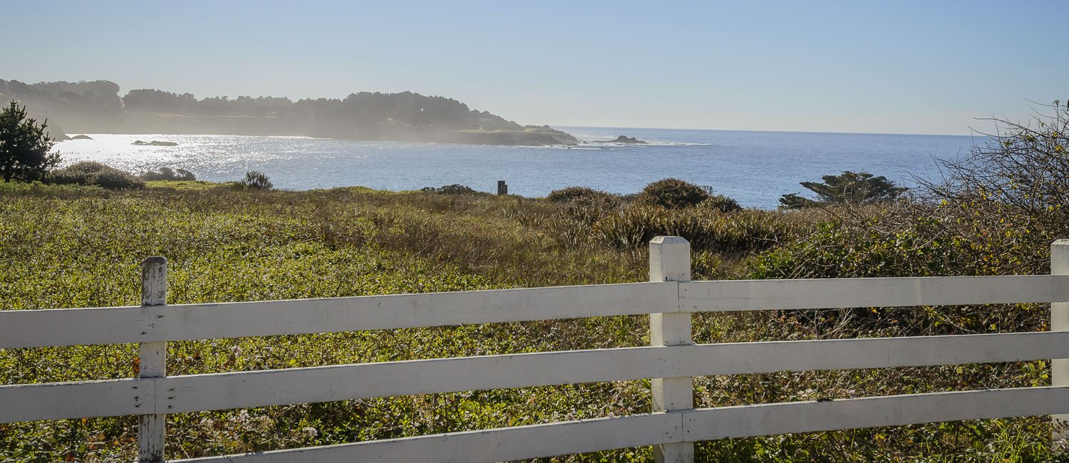 JUST STEPS FROM  THE MENDOCINO HEADLANDS EXPERIENCE UNPARALLELED VIEWS AND MAKE MEMORIES