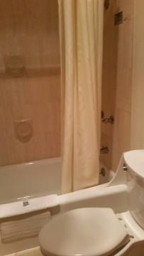 Garden Suites all have private bath.
