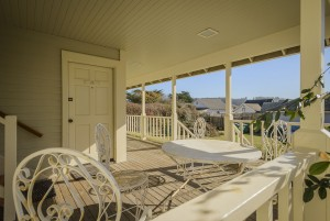 Mendocino Hotel and Garden Suites - Patio